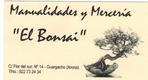 Manualidades y Merceria El Bonsai