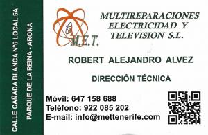 Multireparaciones Electricidad y TV SL