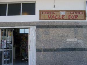Librería Valle Sur