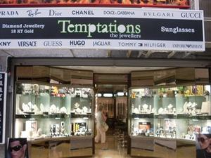 Temptations the jewellers